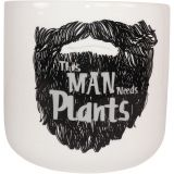This Man. Planter Black Med 14cm