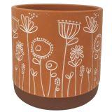 Bree Planter Terracotta Med 14cm