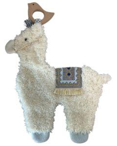 Llama Comforter White 25cm