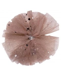 Princess Sparkle Hair Clip Blush