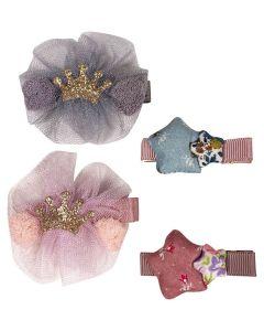 Princess Crown Hair Clip S2 Pink