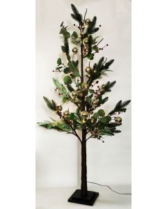 Native with Berry Christmas Tree Green M