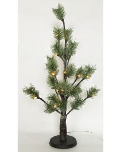 Sparse Pine Christmas Tree Frosted Green