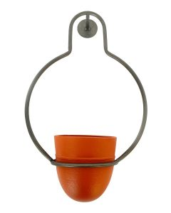Arnie Abstract Wall Planter Terracotta 2
