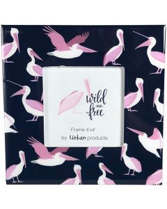Sale Wild  Free Pelicans Frame Pink 4x4