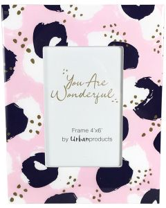 Sale You Are Wonderful Frame Pink  Blue