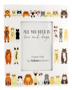 All You Need Is Love & Cats Frame Multic