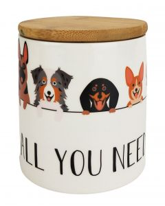 All You Need is Love & Dogs Cannister Mu