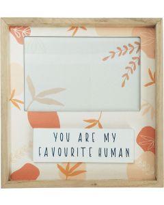 Favourite Human Botanic Frame Terracotta