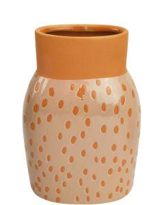 Remy Vase Sherbet Sm 18cm