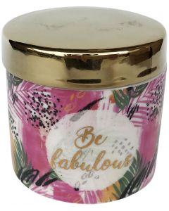 Sale Be Fabulous Palm Canister 7cm