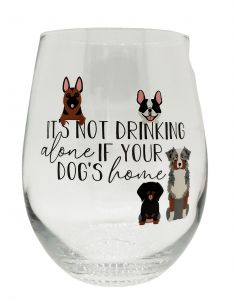 It's Not Drinking Alone If Your Dog's Ho