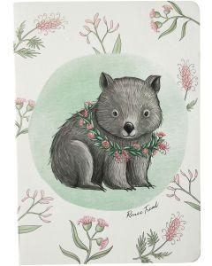 RT Wombat Journal Grey A5