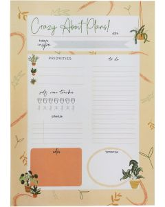 Crazy About Plans Planner Beige