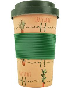 Crazy About Coffee Eco Mug Beige 400ML