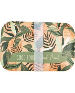 Good Food Good Mood Bamboo Container Pin