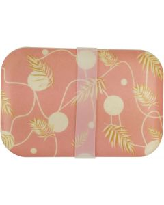 Palm Bamboo Container Pink 800ML