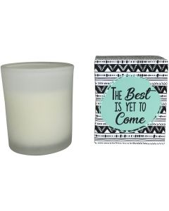 Sale Best to Come Boxed Candle 8cm